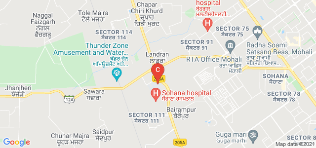 Chandigarh College of Technology, Sector 112, Sahibzada Ajit Singh Nagar, Punjab, India