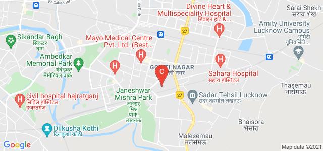 Modern Girls College of Professional Studies, Railway Station Rd, Viram Khand 5, Gomti Nagar, Lucknow, Uttar Pradesh, India