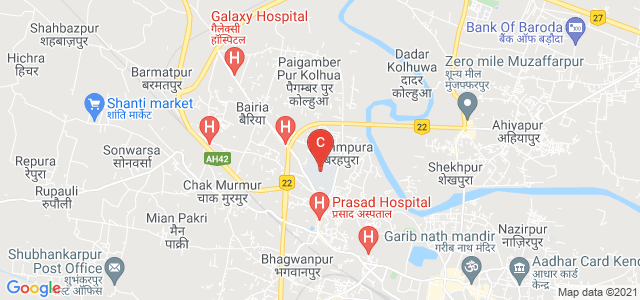 MIT Muzaffarpur, Laxmi Chowk, Brahmpura, Muzaffarpur, Bihar, India