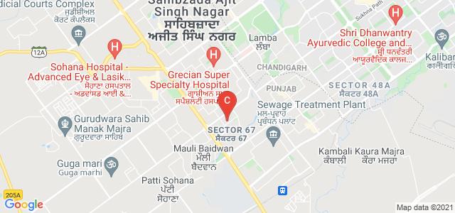 Amity Global Business School, Sector 67, Sahibzada Ajit Singh Nagar, Punjab, India