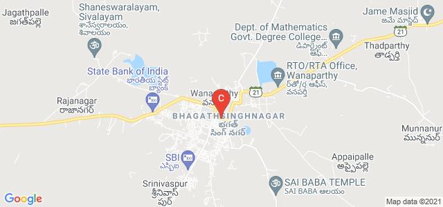 WCCM Degree College, Raja Margam, Raigadda, Wanaparthy, Telangana, India