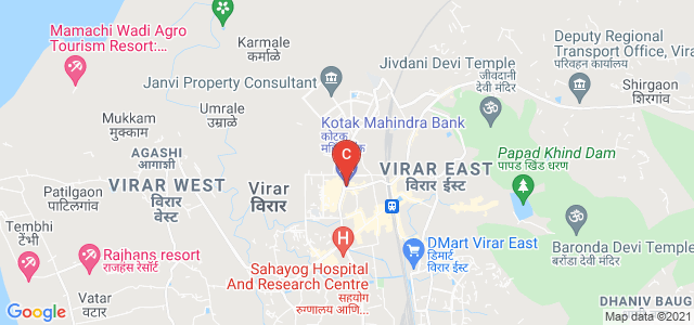 Viva College, Viva College Road, Vartak Ward, Virar West, Virar, Maharashtra, India