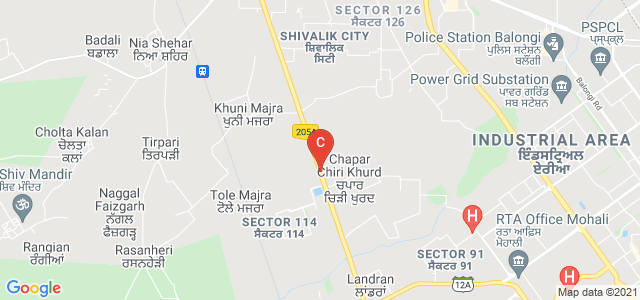 Chandigarh Business School of Administration | Chandigarh | Punjab | North India | Mohali | Landran, Sector 112, Landran, Punjab, India