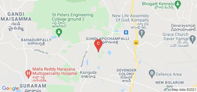Malla Reddy Engineering College For Women, Maisammaguda, Dullapally, Secunderabad, Telangana, India