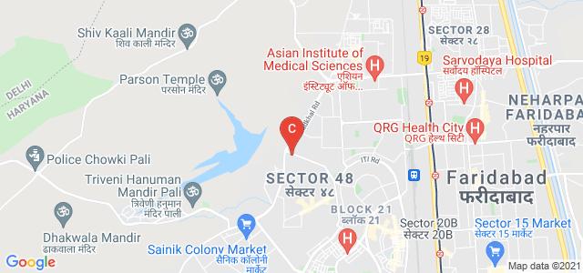 Institute of Hotel Management, Badkhal Lake Crossing, Pocket C, Sanjay Gandhi Memorial Nagar, Sector 48, Faridabad, Haryana, India