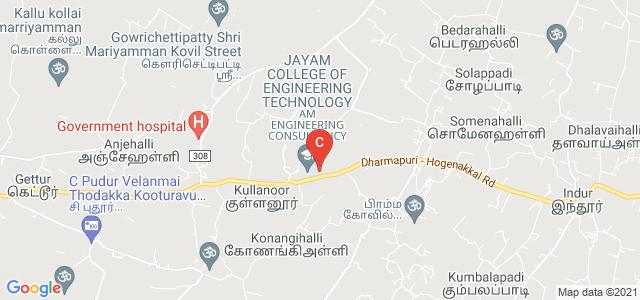 Jayam Arts and Science College, Dharmapuri - Hogenakkal Road, Sigaralahalli, Tamil Nadu, India