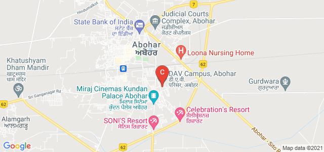 DAV Campus, Abohar, Abohar - Hanumangarh Road, South Evenue, Abohar, Punjab, India
