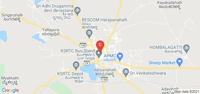 Government First Grade College, Harapanahalli, Karnataka, India