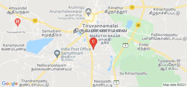 Shanmuga Industries Arts & Science College, Manalurpet Road, Kilnakkarai, Tiruvannamalai, Tamil Nadu, India