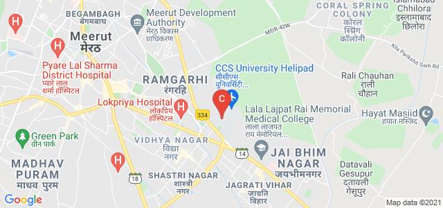 Chaudhary Charan Singh University, University Main Road, Chaudhary Charan Singh University, Ramgarhi, Meerut, Uttar Pradesh, India