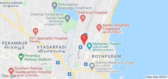 K.C.S.Kasi Nadar College of Arts & Science, Ellaya Street, Meenambal Nagar, Kumaraswami Nagar, R.K. Nagar, Chennai, Tamil Nadu, India