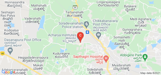 Acharya Institute Of Graduate studies, Soladevanahalli, Karnataka, India