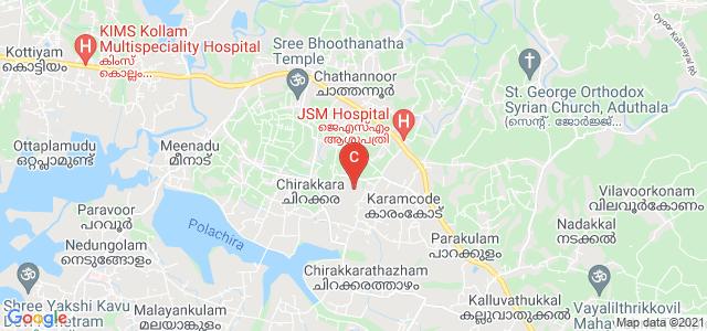 Sree Narayana College, Chathannoor, Chirakkara, Kerala, India