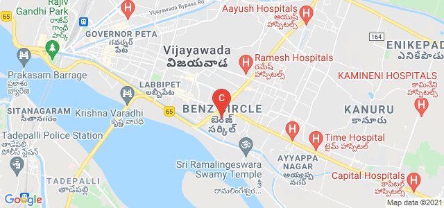 Benz Circle, Vijayawada, Andhra Pradesh, India