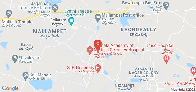 Vignana Jyothi Institute Of Management, Bachupally Road, Nizampet, Bachupally, Hyderabad, Telangana, India