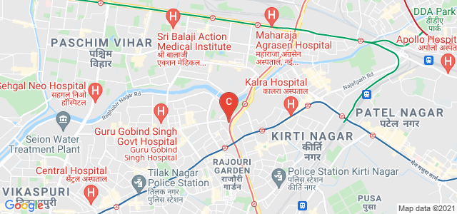 Shivaji College, Ring Rd, Shivaji Enclave, Raja Garden, Delhi, India