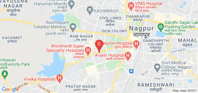 R. S. Mundle Dharampeth Arts & Commerce College, Ambazari Road, Kachipura, East Shankar Nagar, Dharampeth, Nagpur, Maharashtra, India