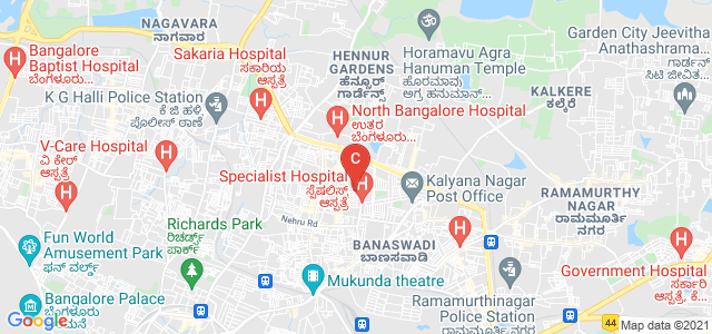 CMR University, 6th A Main Road, HRBR Layout 2nd Block, HRBR Layout, Kalyan Nagar, Bangalore, Karnataka, India