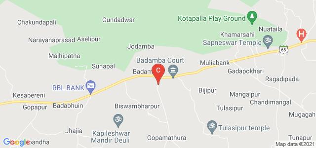 Mohan Subudhi College, State Highway 65, Badamba, Odisha, India