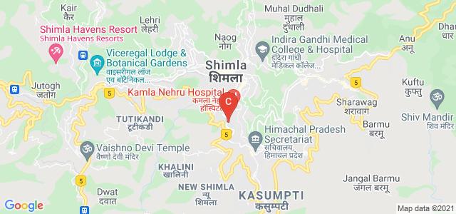 IGMC Shimla, Lakkar Bazar, Shimla, Himachal Pradesh, India