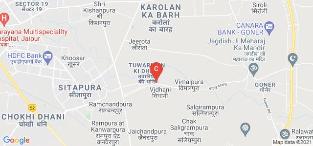 Poornima University, Tuwariyan Ki Dhani, Vidhani, Jaipur, Rajasthan