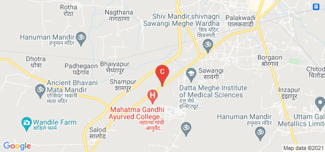DMIETR - Datta Meghe Institute of Engineering, Technology & Research, Wardha, Sawangi, Maharashtra, India
