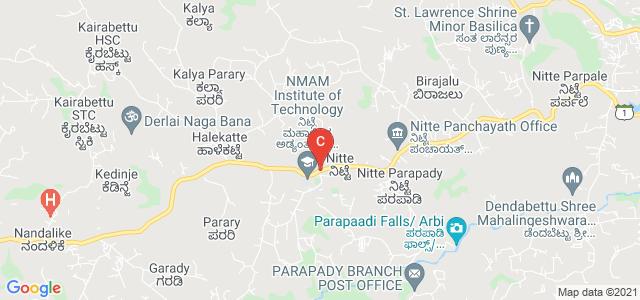Nitte Dwara Bus Stop, Nitte, Karnataka, India