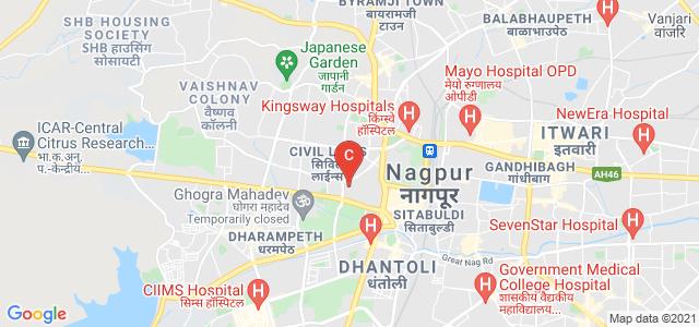 Government Institute of Forensic Science, Nagpur, Red Cross Road, Sitabuldi, Nagpur, Maharashtra, India