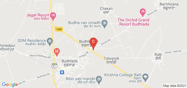 library GURU NANAK COLLEGE Budhlada, Jakhal Budhlada Road, Budhlada, Punjab, India