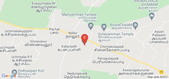 Aruna Vidhya Arts and Science College, National Highway 66, Tamil Nadu, India