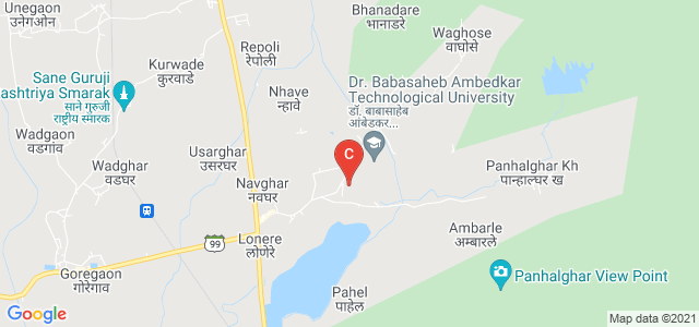 Dr. Babasaheb Ambedkar Technological University, Vidyavihar, Lonere, Maharashtra, India