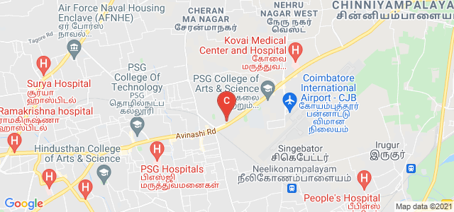 Coimbatore Medical College, Avinashi Road, Civil Aerodrome Post, Peelamedu, Coimbatore, Tamil Nadu, India
