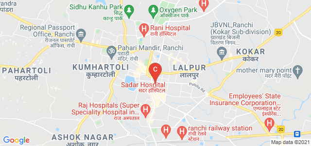 St. Xavier's College, Doctor Camil Bulcke Path, Pathalkudwa, Nayatoli, Ranchi, Jharkhand, India