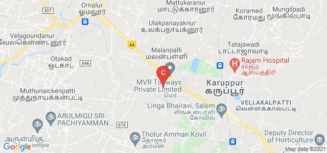 Padmavani Arts & Science College for Women, Kottagoundampatty Road, Opp. Periyar University, Kottagoundampatti, Salem, Tamil Nadu, India