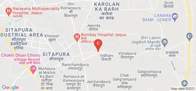 JECRC University, Tuwariyan Ki Dhani, Jaipur, Rajasthan, India