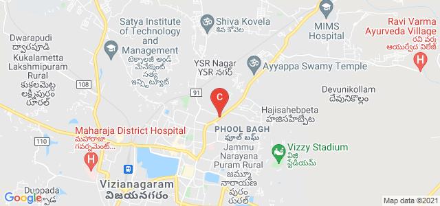 Maharajah's College For Women, Phool Bagh, Vizianagaram, Andhra Pradesh, India