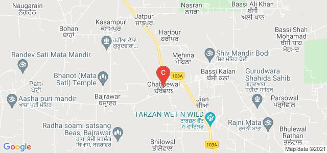 Siri Guru Har Rai Sahib College for Women, Garhshankar-Hoshiarpur Road, Mehina, Punjab, India