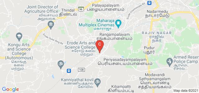 Erode Arts and Science College, Rangampalayam, Erode, Tamil Nadu, India