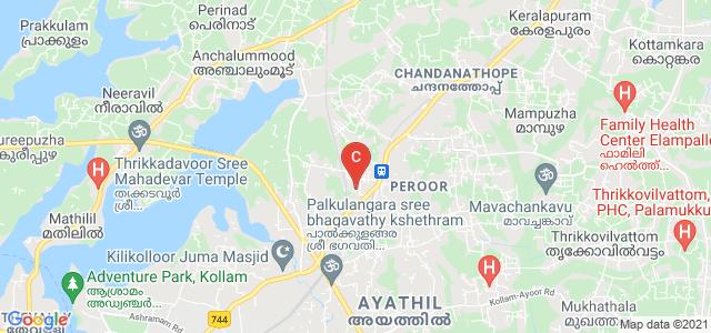 TKM College Of Arts & Science, Karicode, Peroor, Kollam, Kerala, India