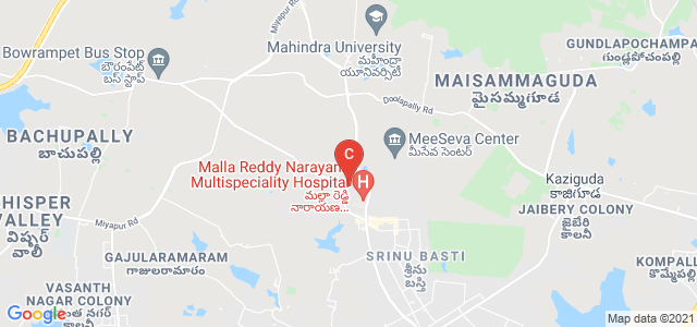 Malla Reddy Institute of Medical Sciences, Venkatarama Colony, Suraram, Hyderabad, Telangana, India