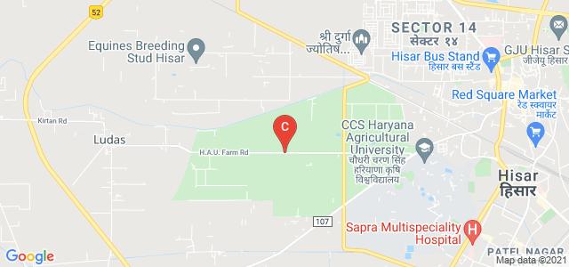 CCS Haryana Agricultural University, Haryana Agricultural University, Hisar, Haryana, India