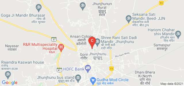 Seth Motilal PG College, Chobari Mandi Colony, Jhunjhunu, Rajasthan, India