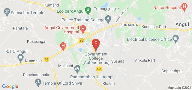 Government Autonomus College, Angul, Hakimapada, Angul, Odisha, India