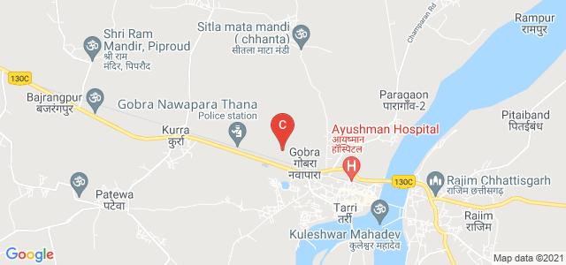 Gobranawapara Road, Gobra, Chhattisgarh, India
