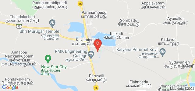 R.M.D. Engineering College., RMD College Road, Kavaraipettai, Thiruvallur, Tamil Nadu, India