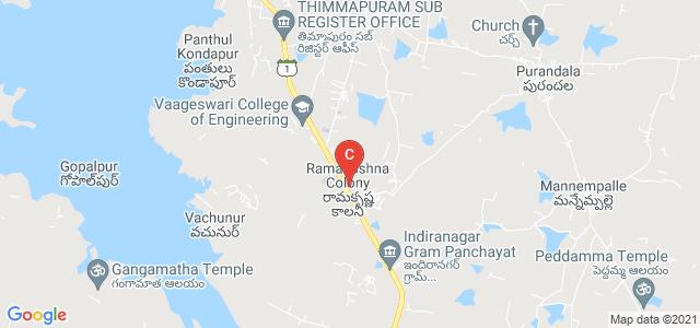 Ramakrishna Colony, Telangana 505481, India