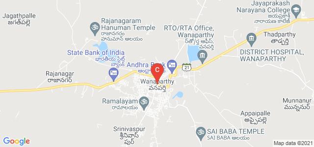 Wanaparthy, Mahabubnagar, Telangana, India