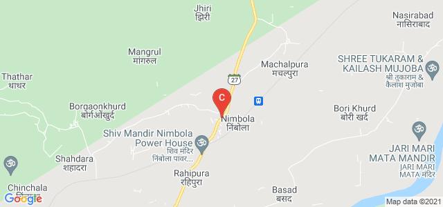 Nimbola Bus Stop, Madhya Pradesh State Highway 27, Nimbola, Madhya Pradesh, India