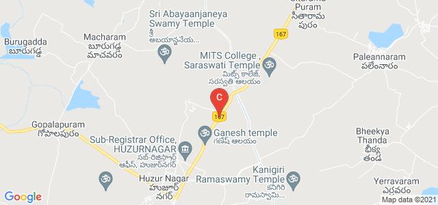 Miryalaguda-Kodad Rd, Huzur Nagar, Telangana 508238, India