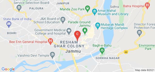 Jammu Flyover, Shalamar, Resham Ghar Colony, Jammu 180001